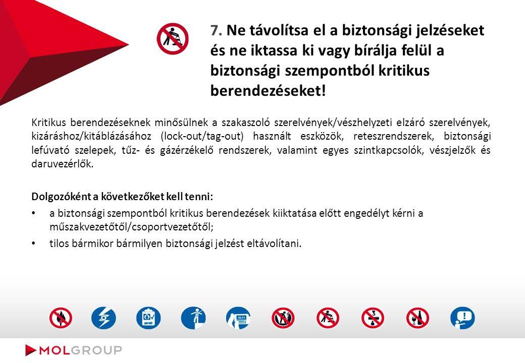 6. Ne végezzen munkát biztonságos megtámasztás nélküli árokban!