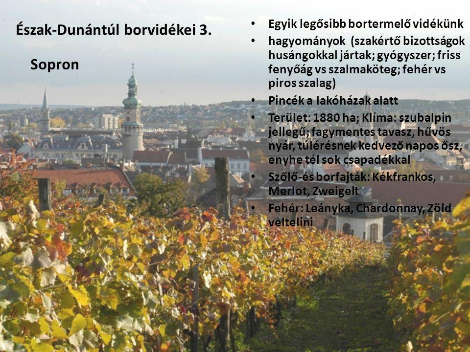 Észak-Dunántúl borvidékei 3.