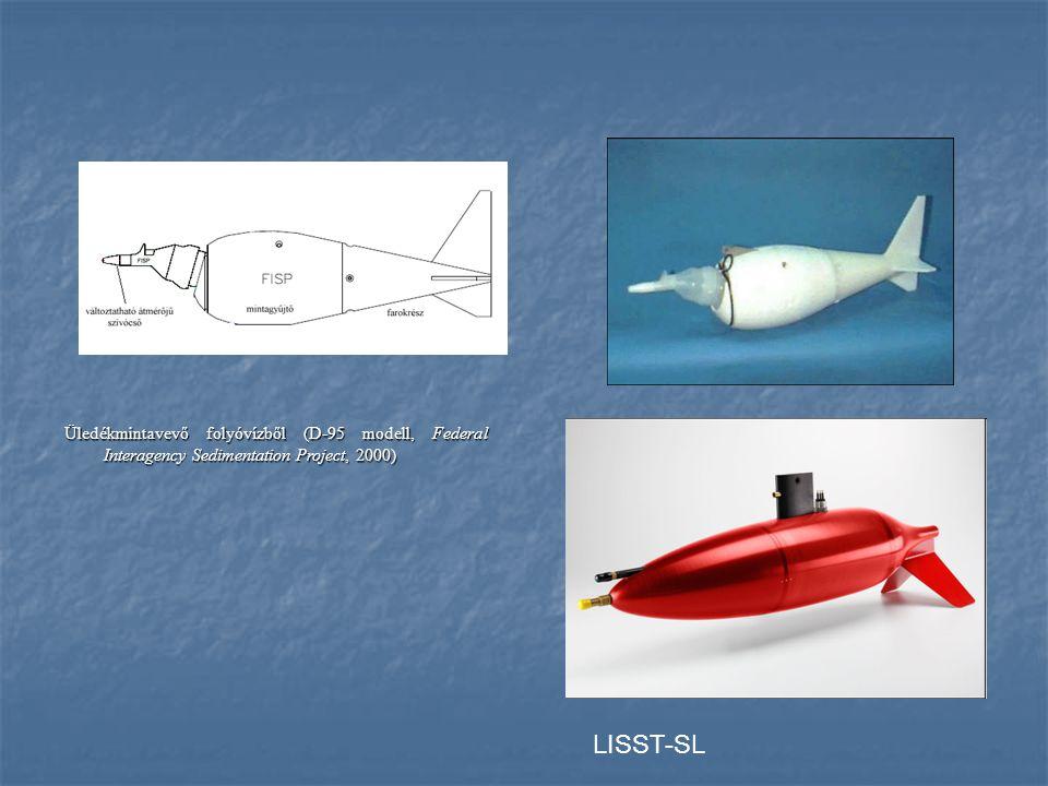 Üledékmintavevő folyóvízből (D-95 modell, Federal Interagency Sedimentation Project, 2000)