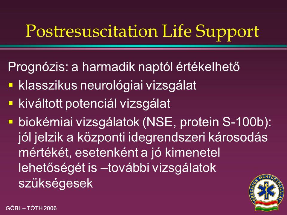 Postresuscitation Life Support