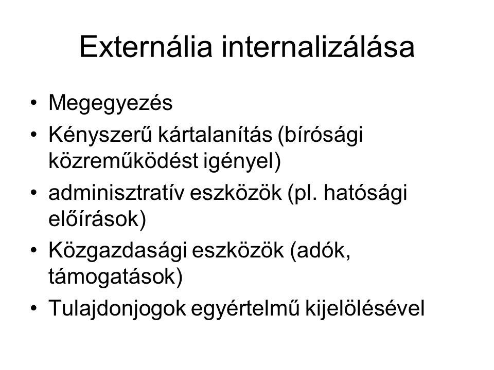 Externália internalizálása