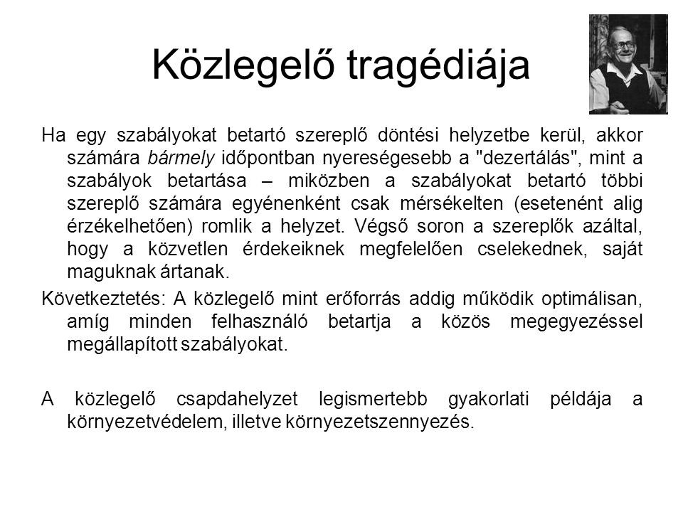 Közlegelő tragédiája