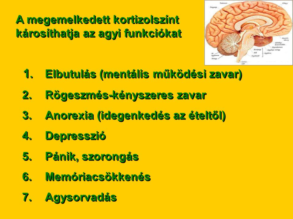 1. Elbutulás (mentális működési zavar)