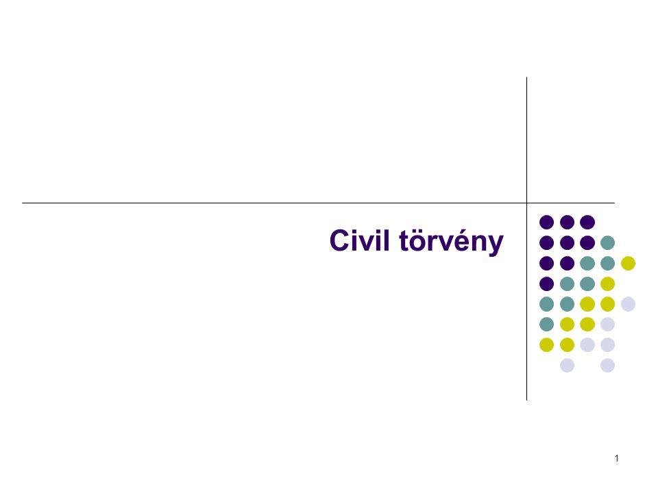 Civil törvény