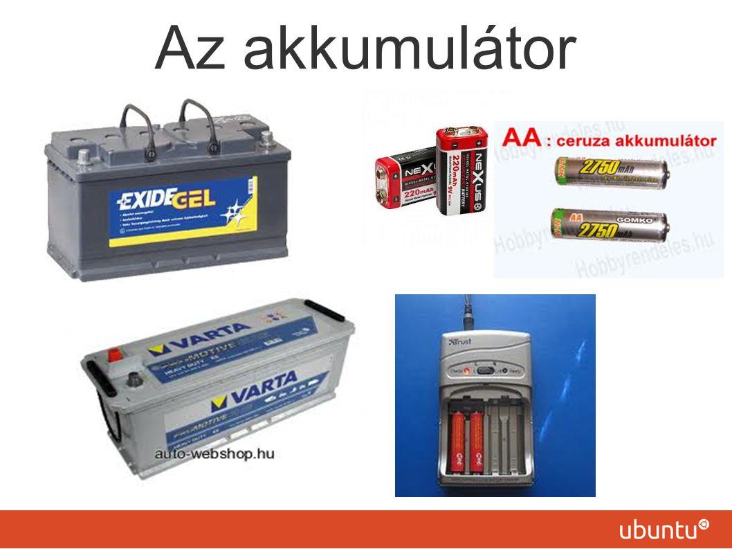 Az akkumulátor