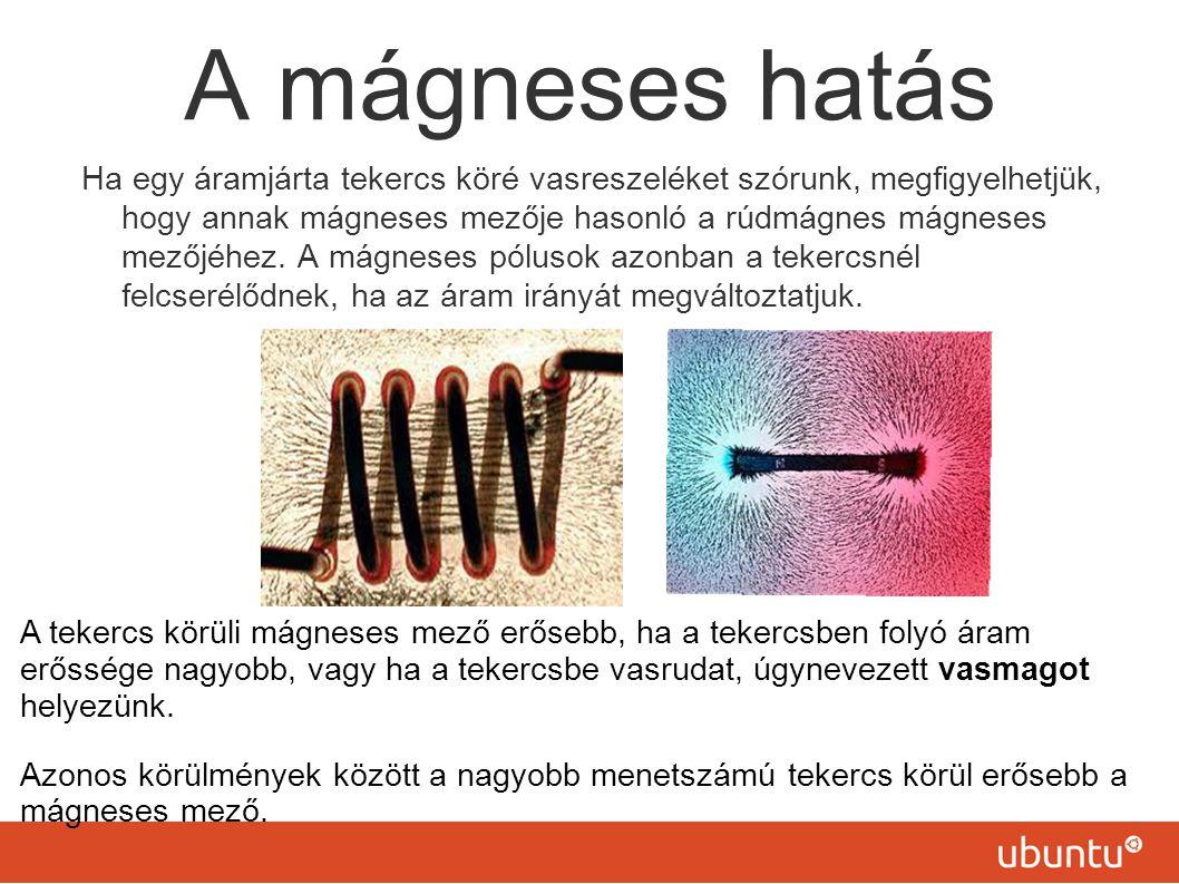 A mágneses hatás