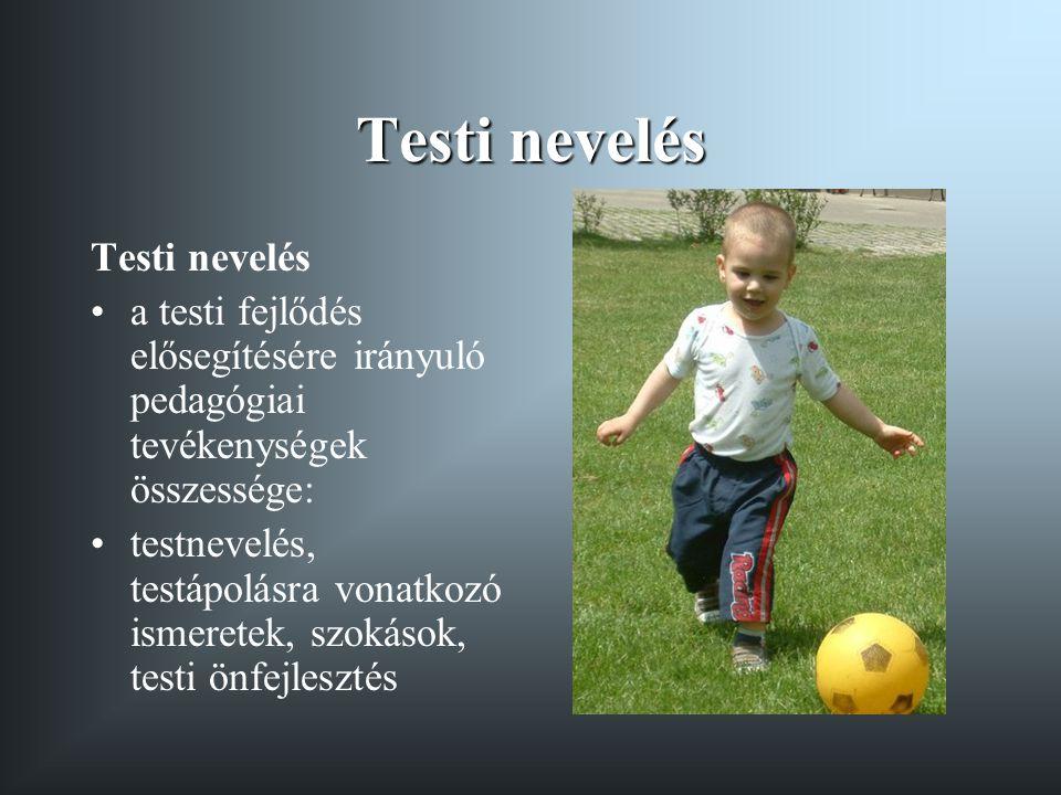 Testi nevelés Testi nevelés