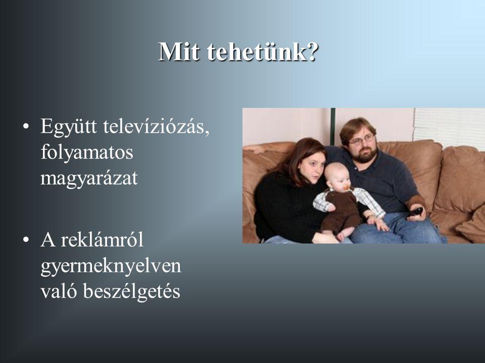 Mit tehetünk Együtt televíziózás, folyamatos magyarázat