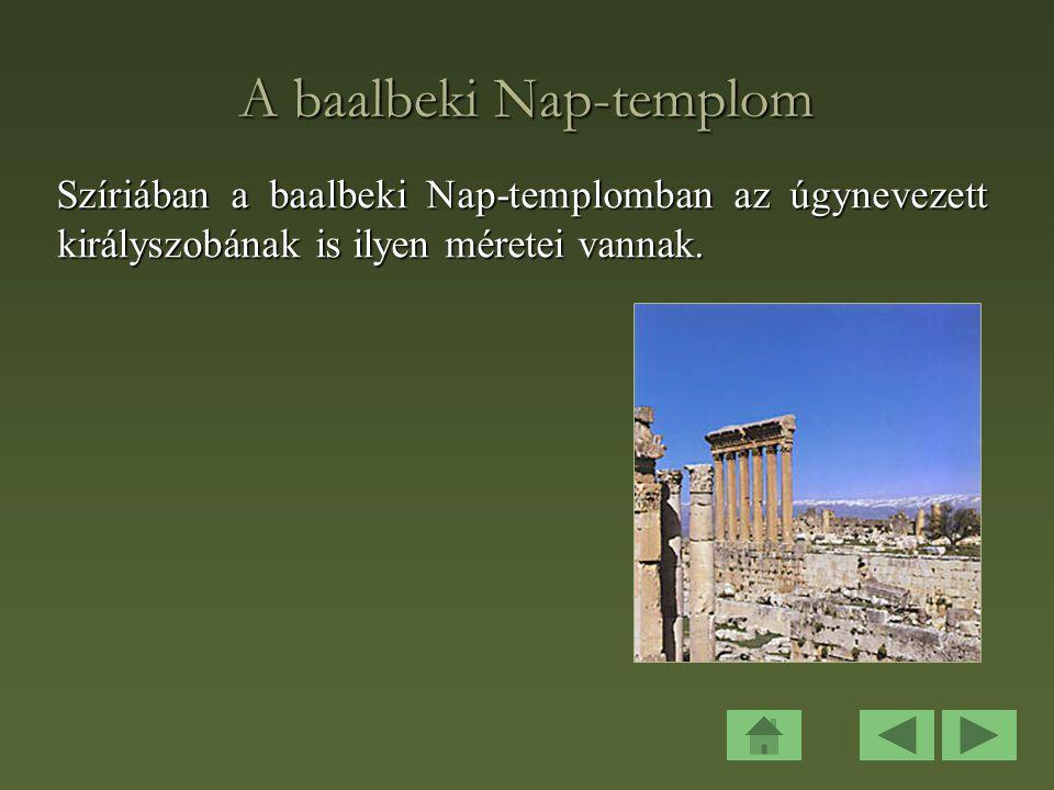 A baalbeki Nap-templom