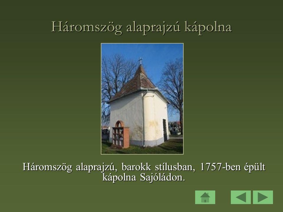 Háromszög alaprajzú kápolna