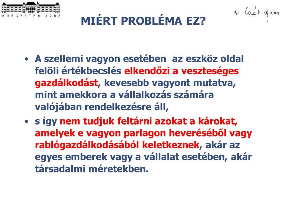 MIÉRT PROBLÉMA EZ