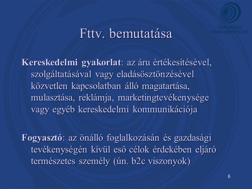 Fttv. bemutatása
