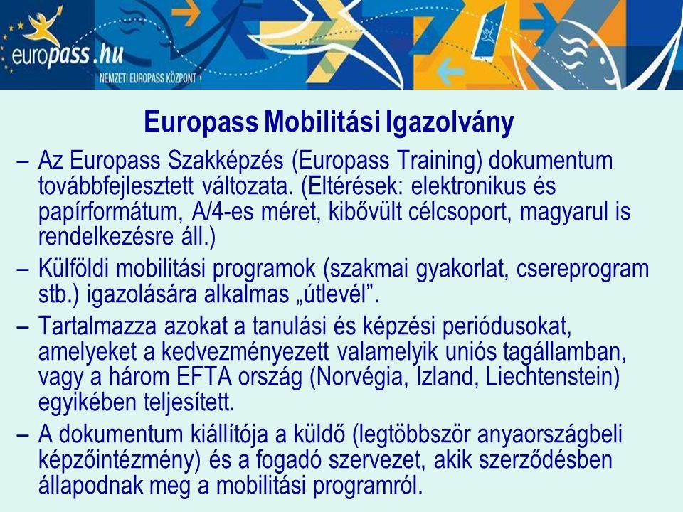 Europass Mobilitási Igazolvány