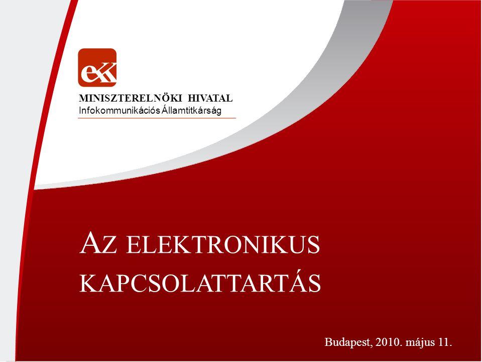 Az elektronikus kapcsolattartás