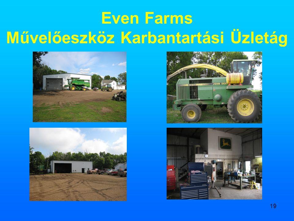 Even Farms Művelőeszköz Karbantartási Üzletág