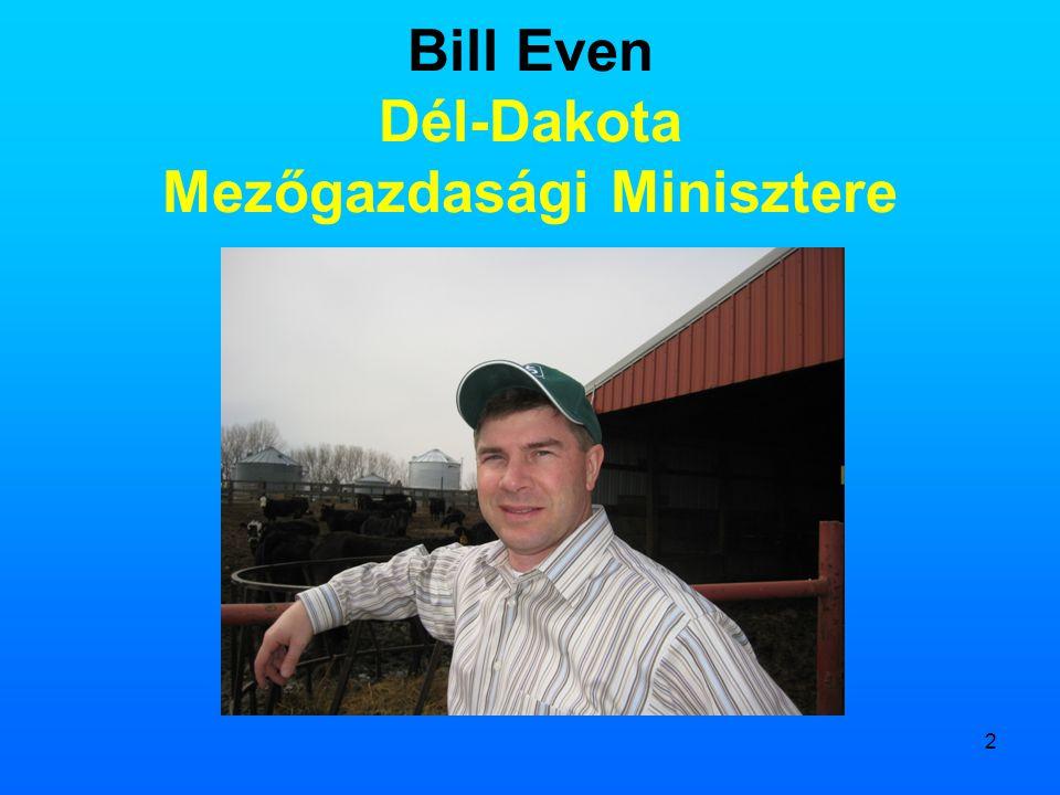 Bill Even Dél-Dakota Mezőgazdasági Minisztere
