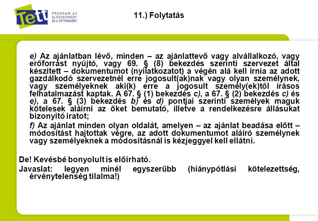 11.) Folytatás