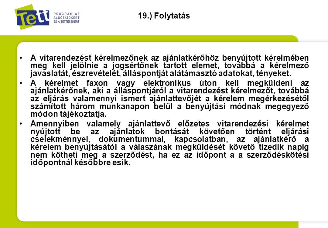 19.) Folytatás