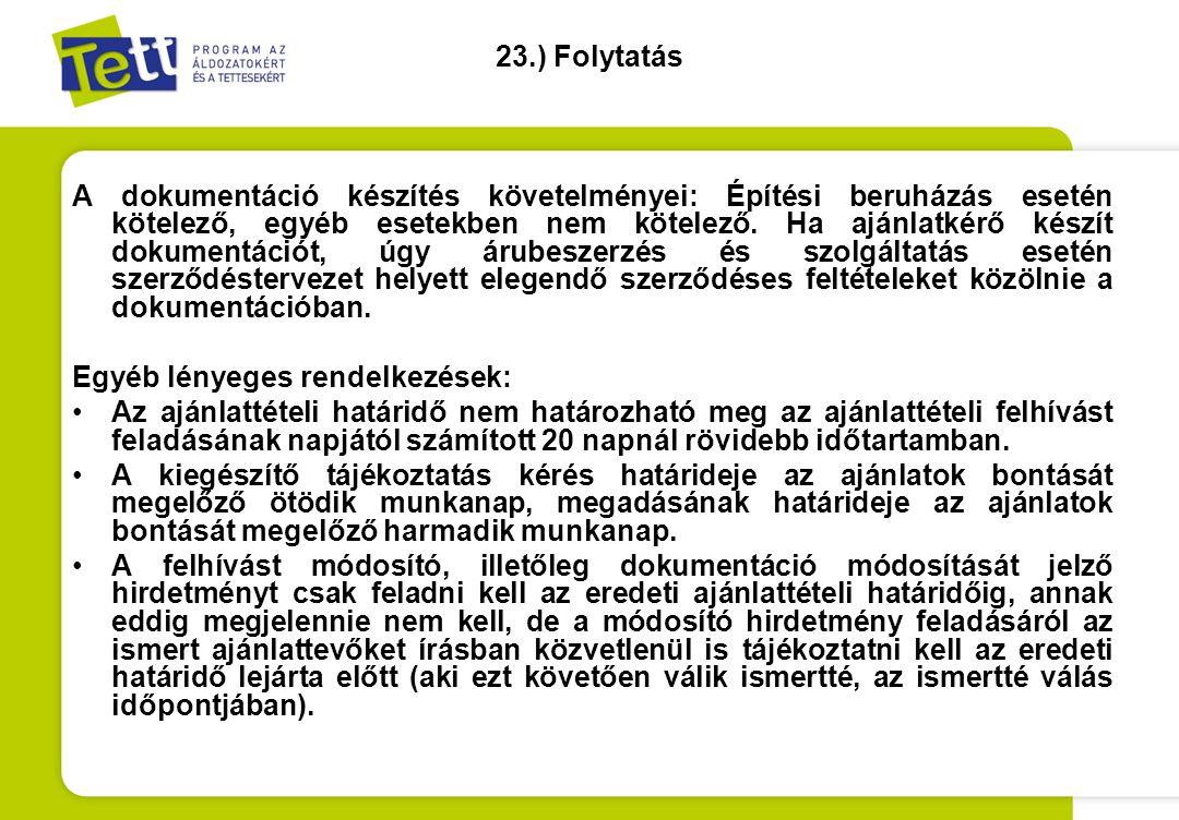 23.) Folytatás