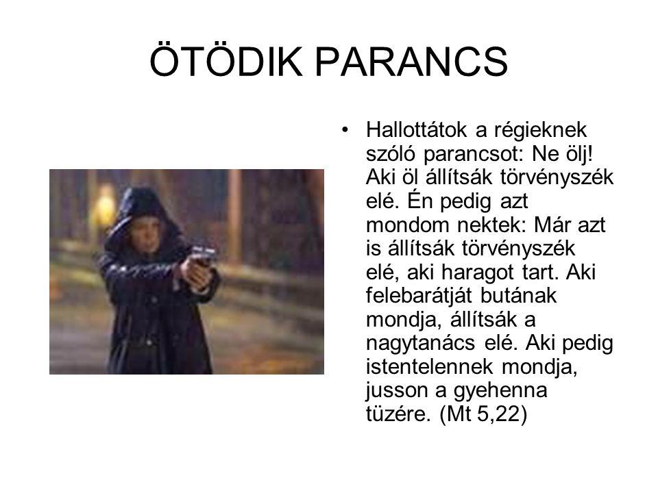 ÖTÖDIK PARANCS