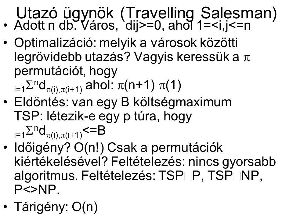 Utazó ügynök (Travelling Salesman)