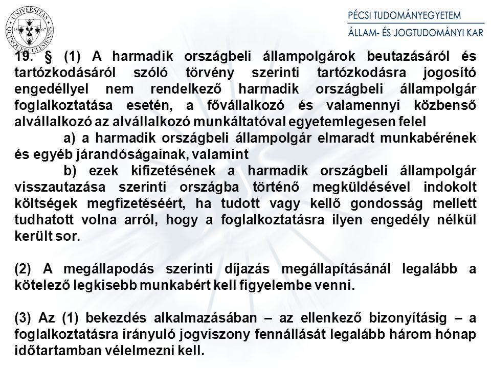 14. § (1) Az Mt. 273. § (2) bekezdését a 2012. június 30