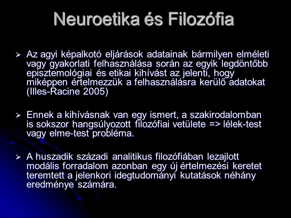 Neuroetika és Filozófia
