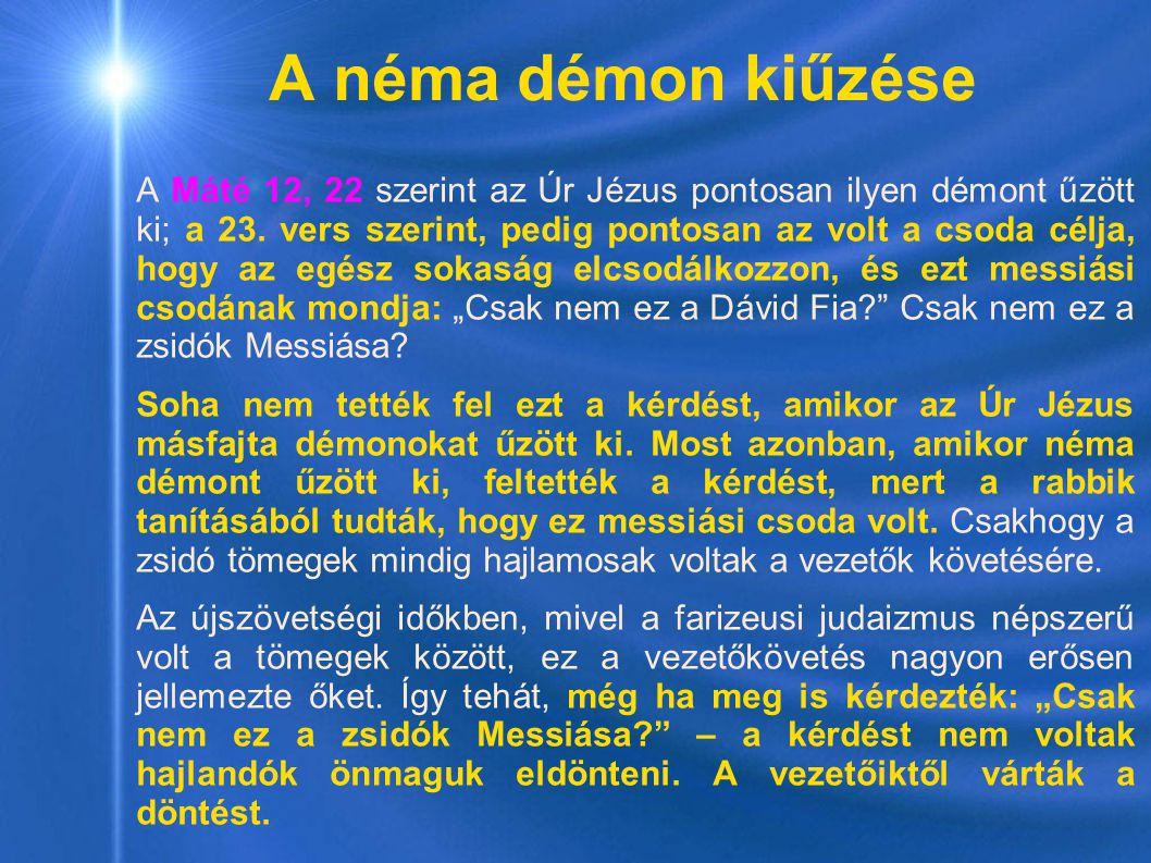 A néma démon kiűzése