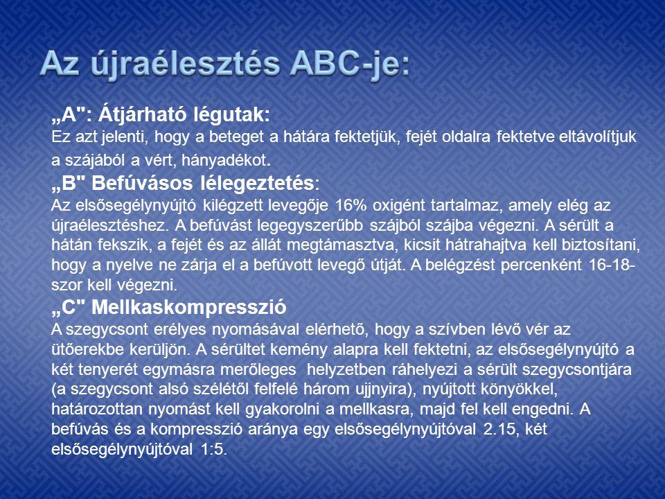Az újraélesztés ABC-je: