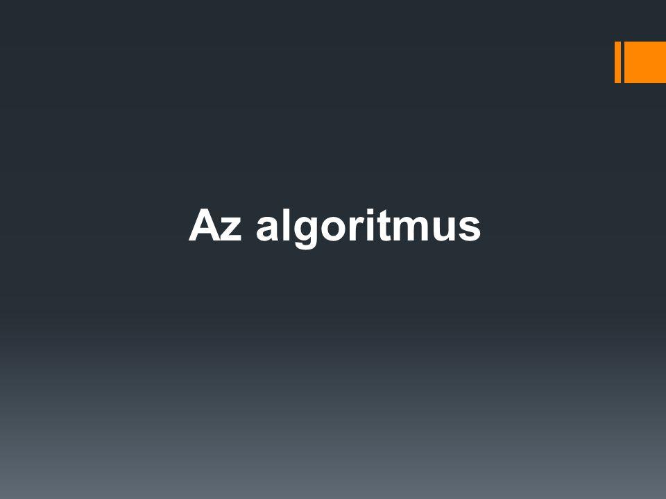 Az algoritmus