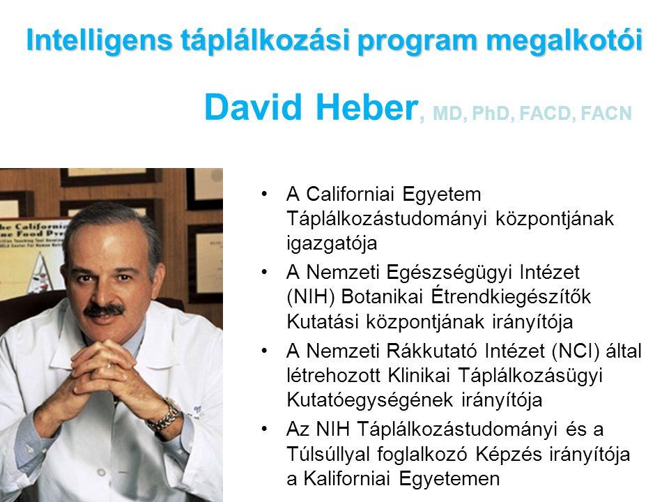 Intelligens táplálkozási program megalkotói