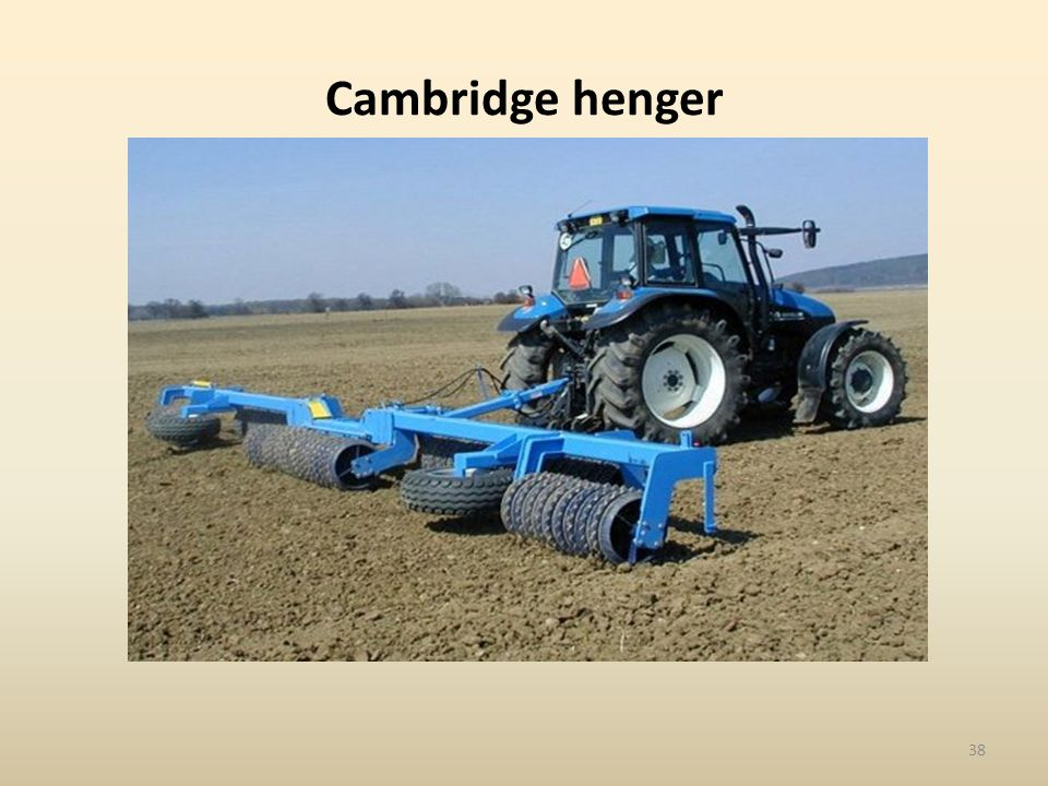 Cambridge henger