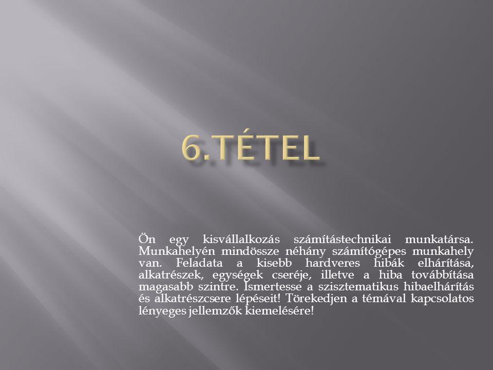 6.tétel