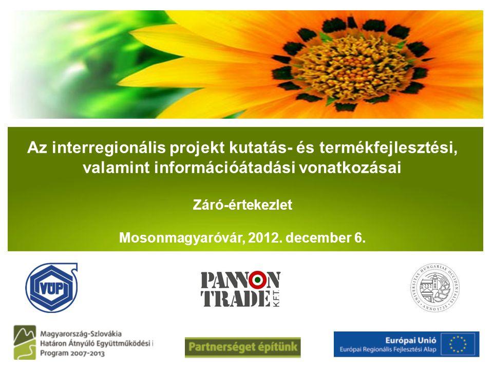 Mosonmagyaróvár, 2012. december 6.