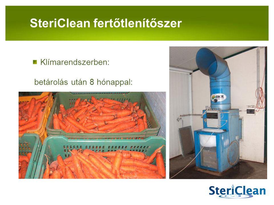 SteriClean fertőtlenítőszer