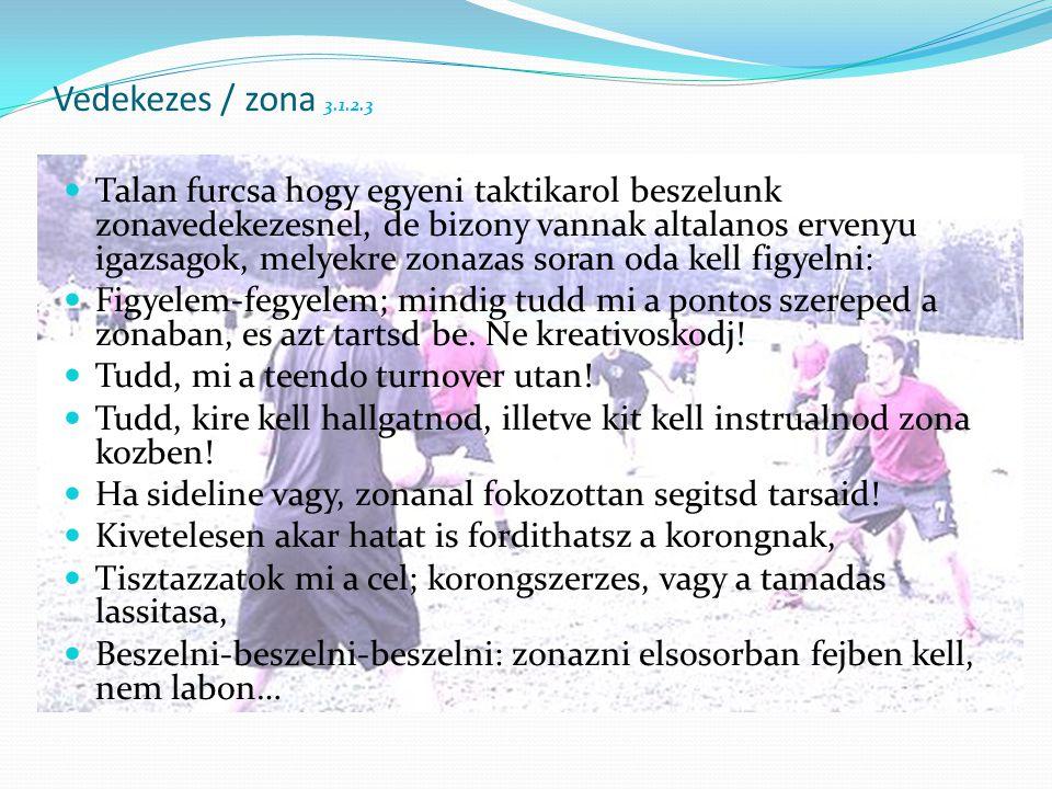 Vedekezes / zona 3.1.2.3