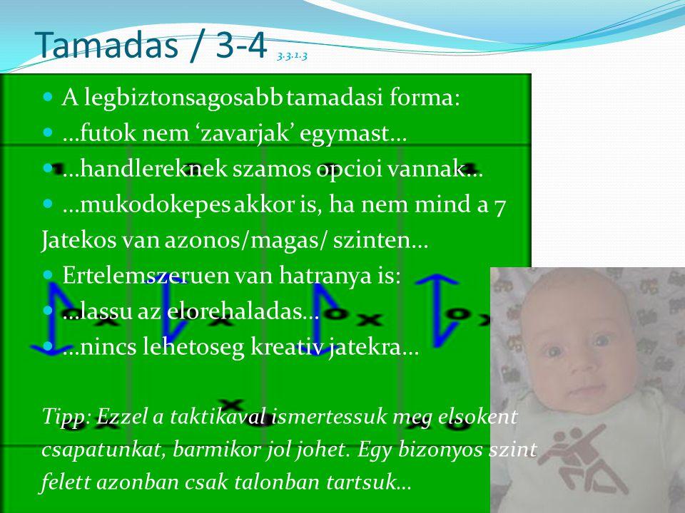 Tamadas / 3-4 3.3.1.3 A legbiztonsagosabb tamadasi forma: