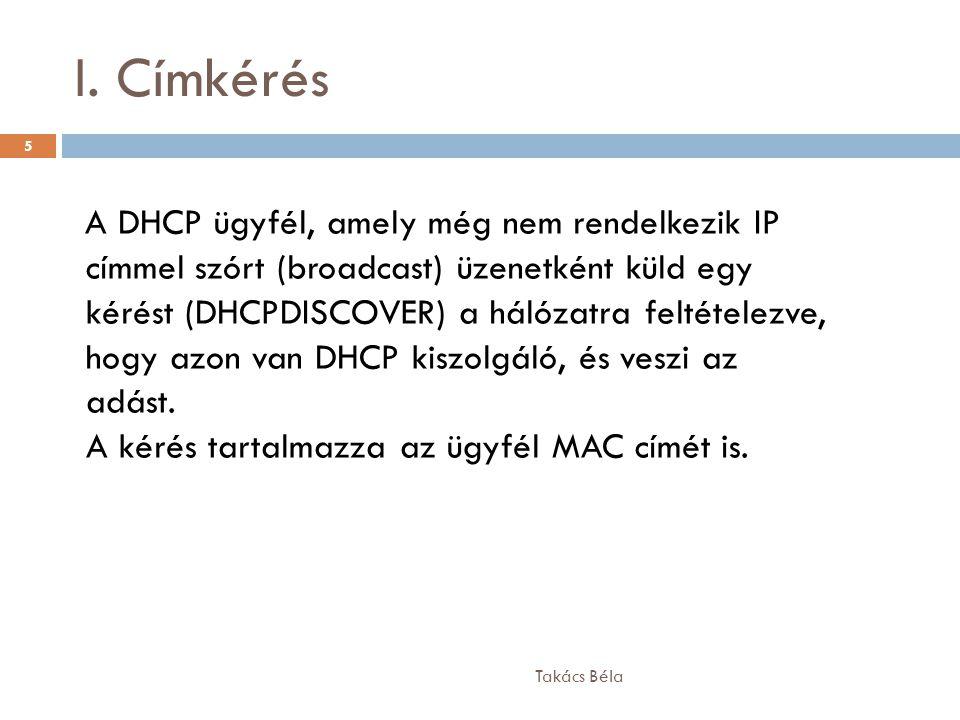 I. Címkérés