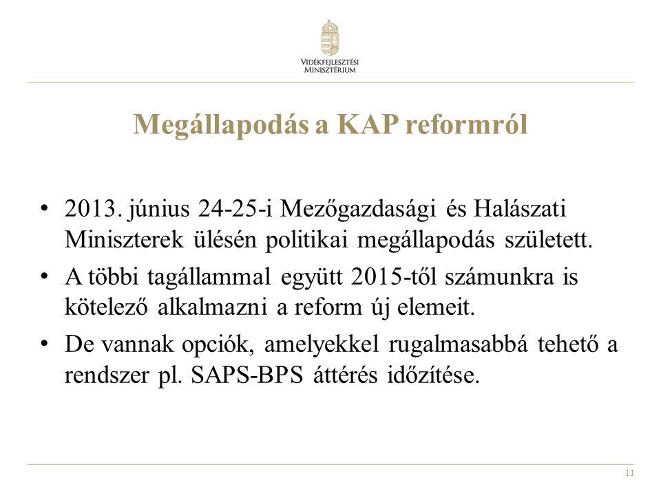 Megállapodás a KAP reformról