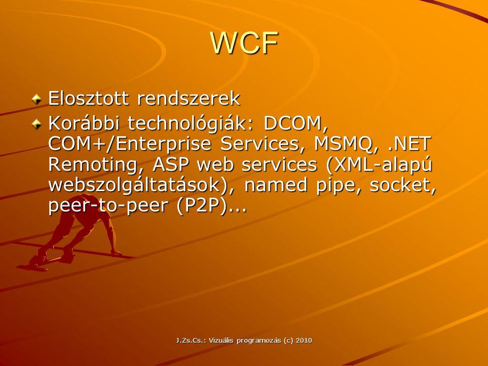 J.Zs.Cs.: Vizuális programozás (c) 2010