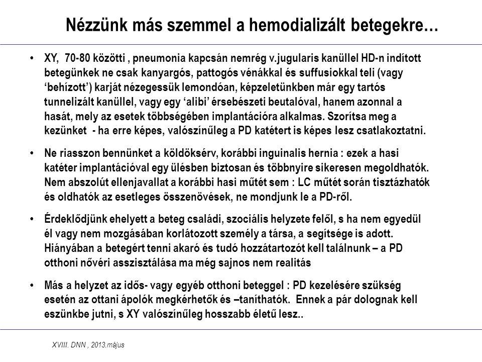 Nézzünk más szemmel a hemodializált betegekre…