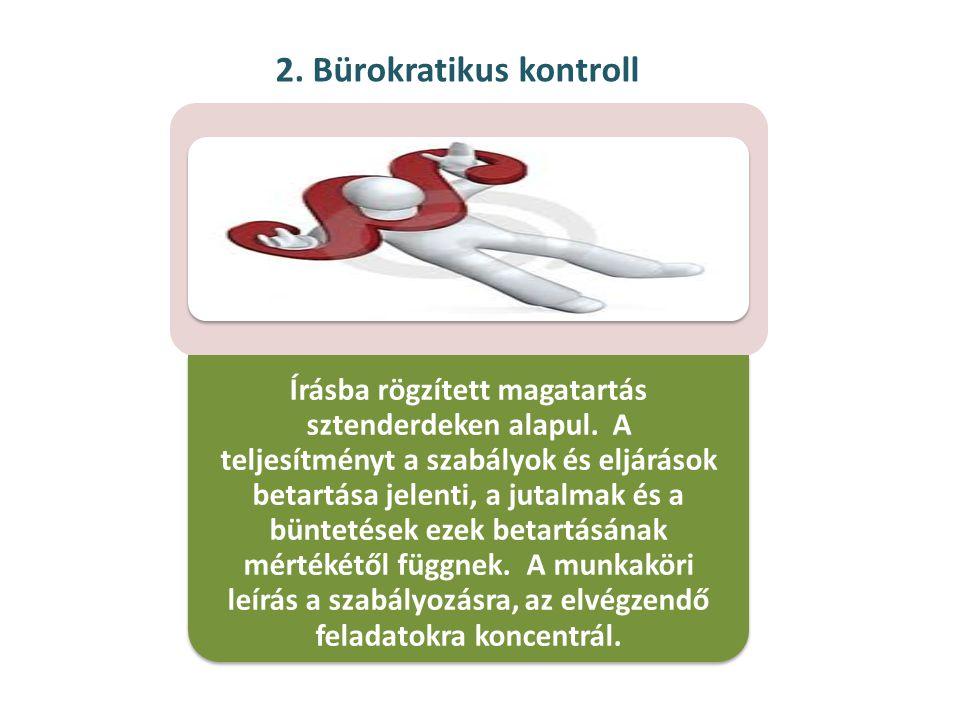 2. Bürokratikus kontroll