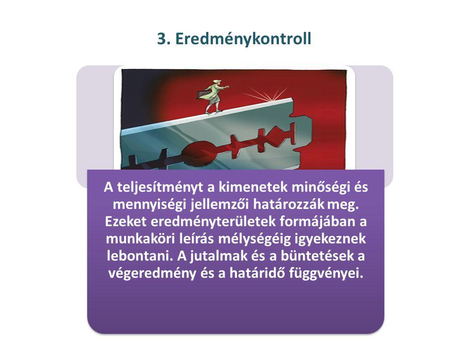 3. Eredménykontroll