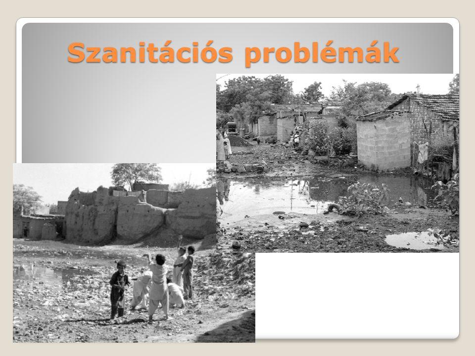 Szanitációs problémák