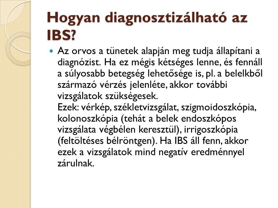 Hogyan diagnosztizálható az IBS