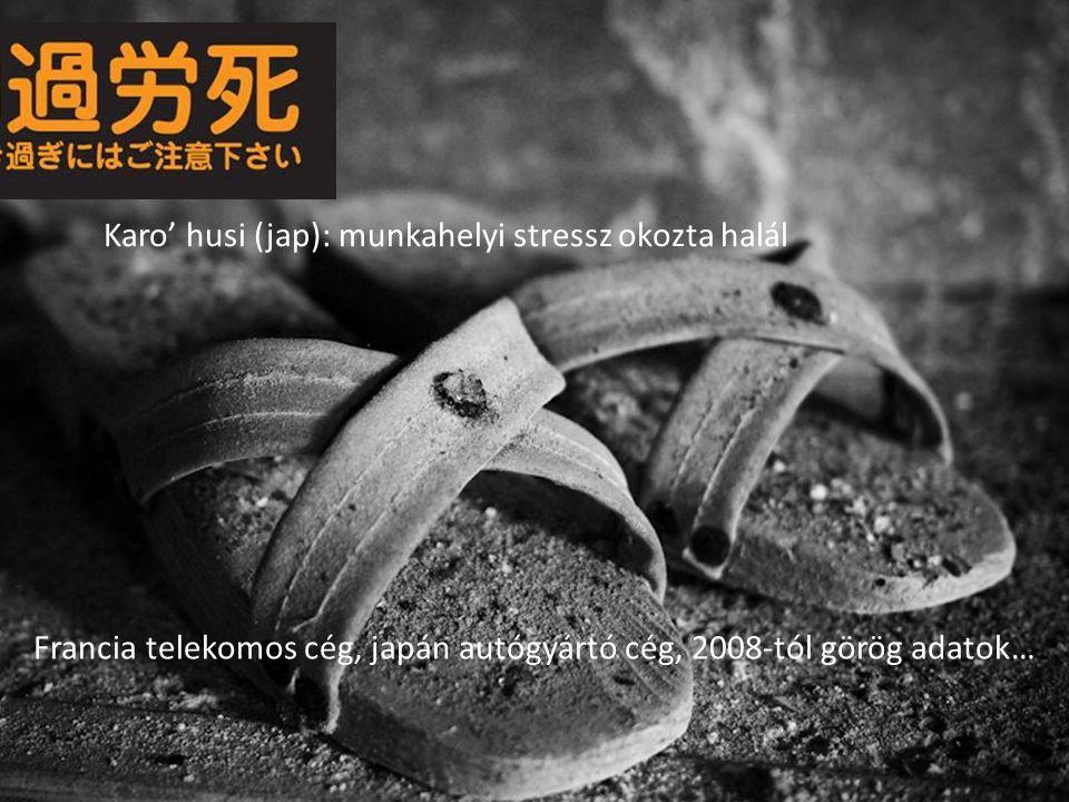 Karo' husi (jap): munkahelyi stressz okozta halál