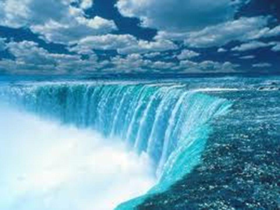A vízesések: