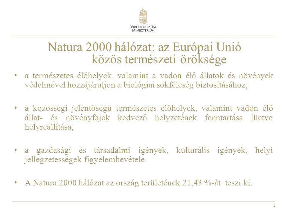 Natura 2000 hálózat: az Európai Unió közös természeti öröksége