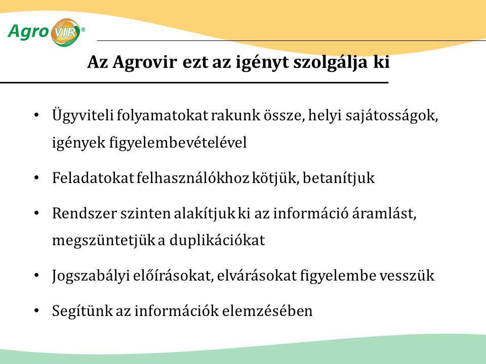 Az Agrovir ezt az igényt szolgálja ki