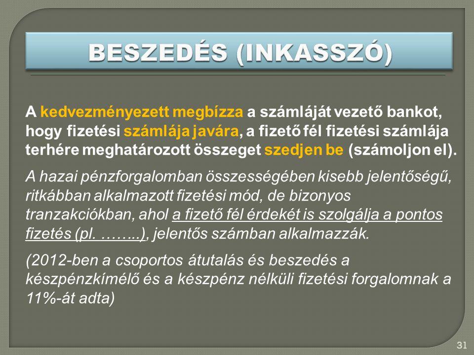 BESZEDÉS (INKASSZÓ)